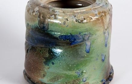Salt Fired Vase